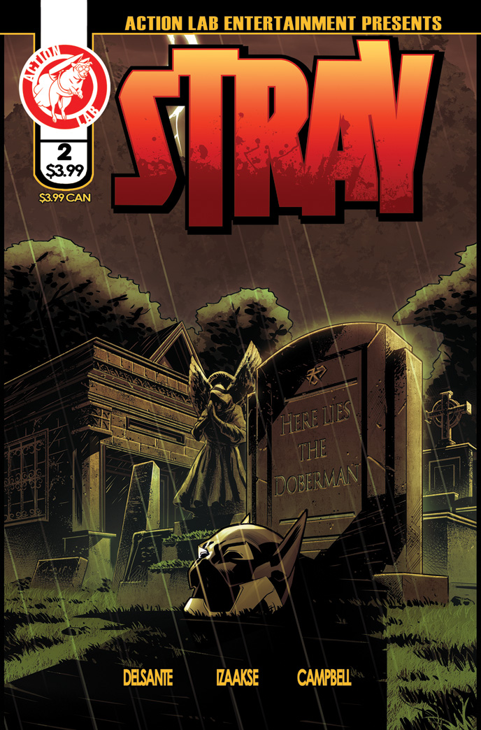 Stray #2 cover 1