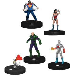Superman Wonder Woman Heroclix