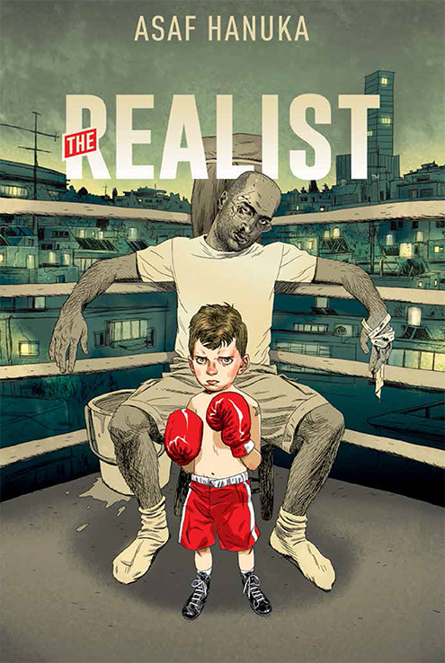 The Realist Cover by Asaf Hanuka