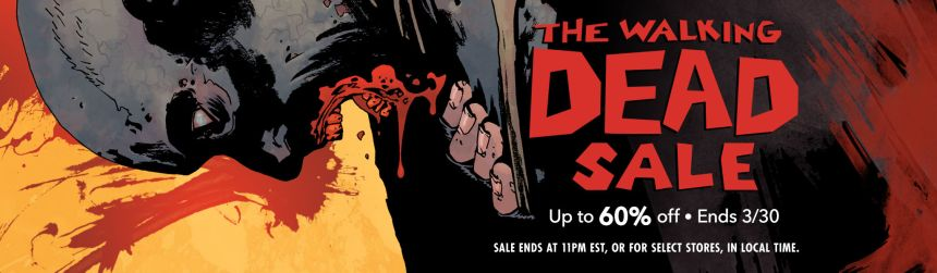 the walking dead comixology sale