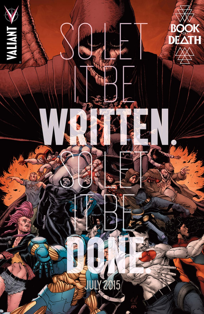 valiant 2015 book of death