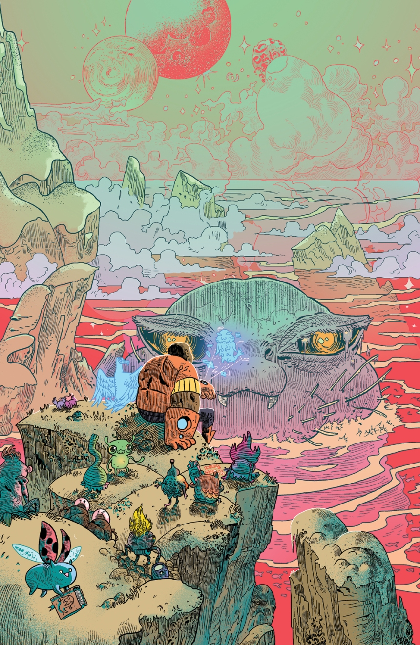 Bravest Warriors Tales from the Holo John #1 Incentive Cover by Artyom Trakhanov