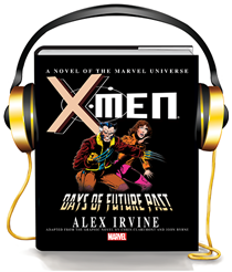 days of future past graphicaudio
