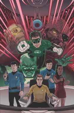 Green Lantern Star Trek 1