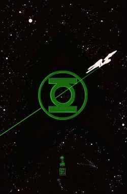 Green Lantern Star Trek 2