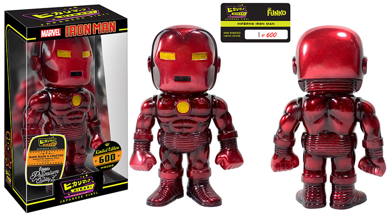 Inferno Iron Man Hikari Premium Sofubi Figure