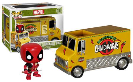 Pop! Ride Deadpool's Chimichanga Truck