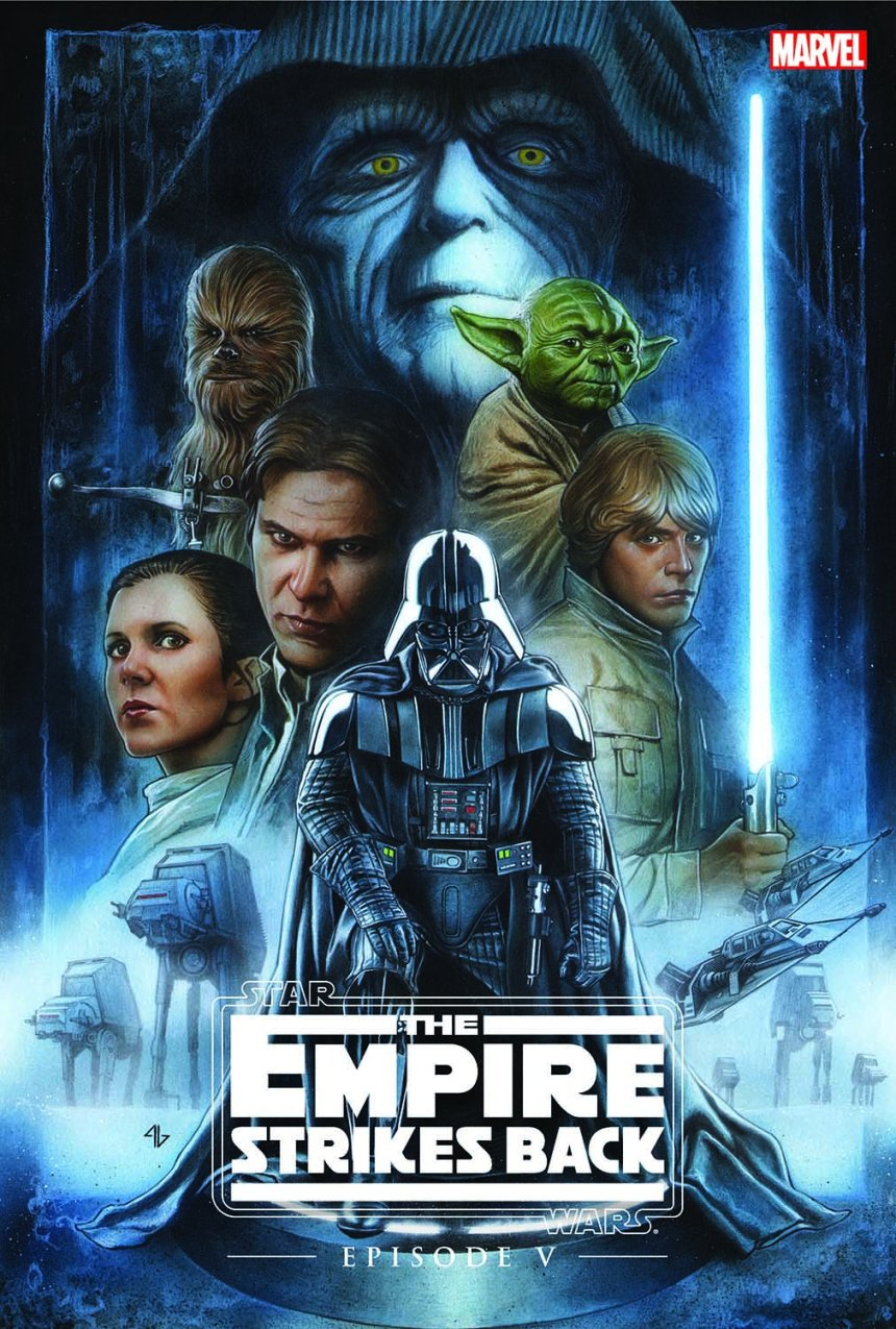 STAR WARS EPISODE V - THE EMPIRE STRIKES BACK OGN-HC COVER