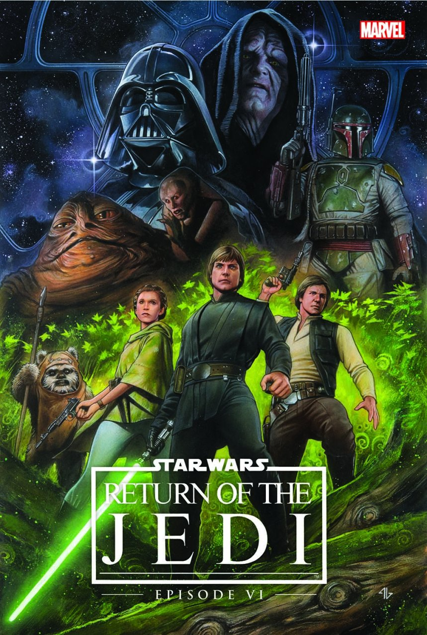 STAR WARS EPISODE VI - RETURN OF THE JEDI OGN-HC