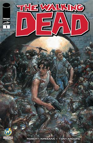 The Walking Dead #1 Clayton Crain