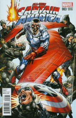 All-New Captain America Adams Variant