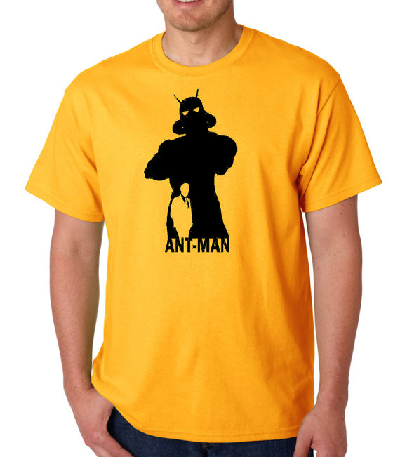 Ant-Man tshirt yellow