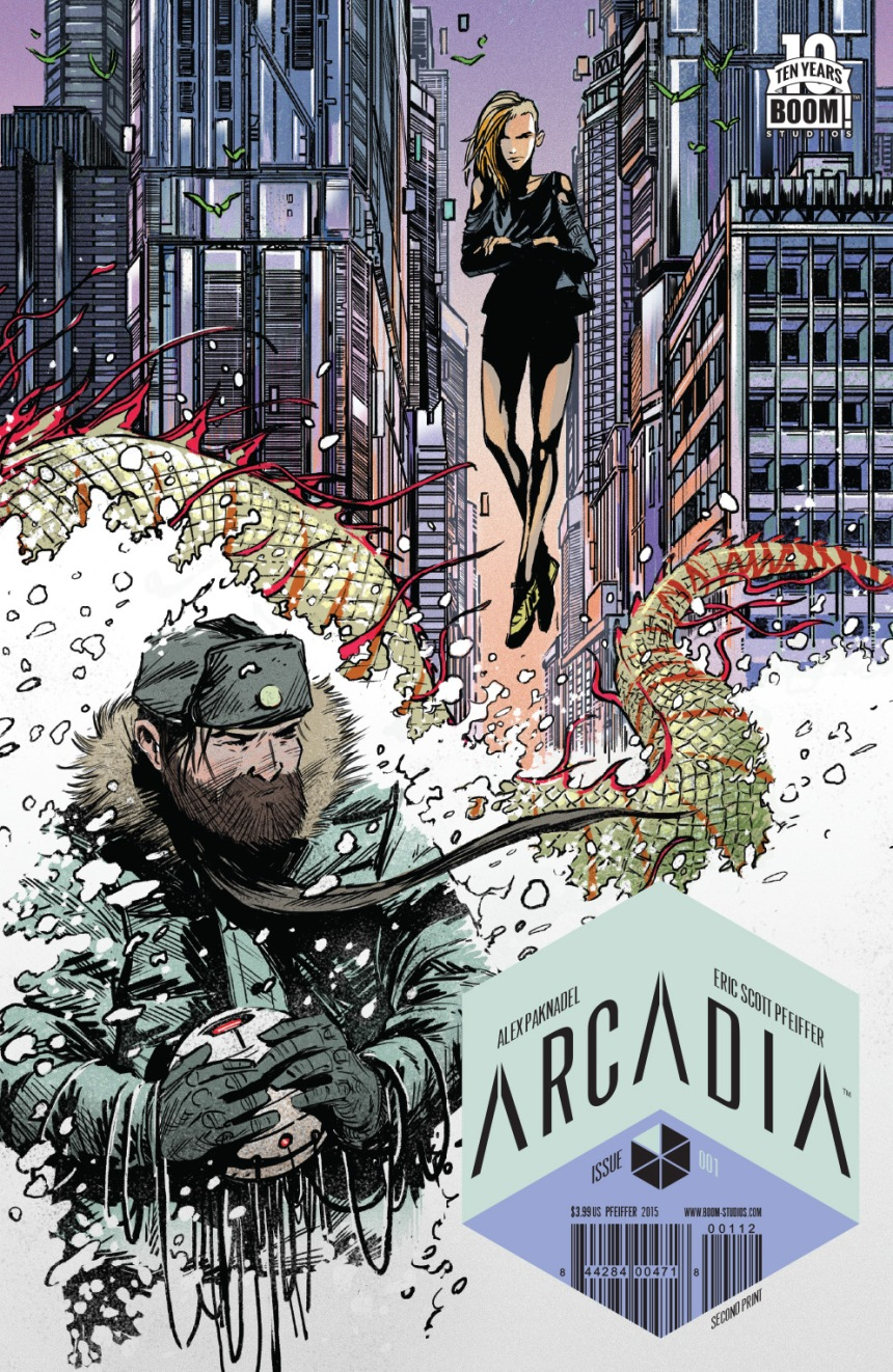 Arcadia #1 Cover by Eric Scott Pfeiffer