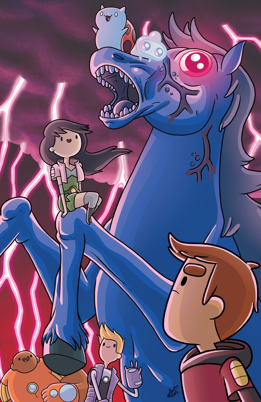 Bravest Warriors #33 DCC Exclusive Variant by Ian McGinty