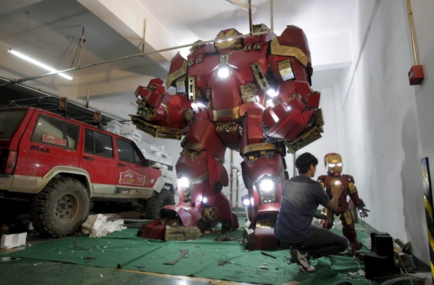 China Iron Man