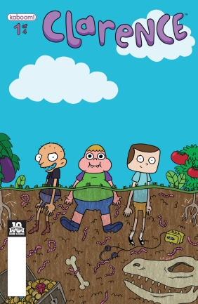 Clarence #1 Subscription Cover by Liz Prince