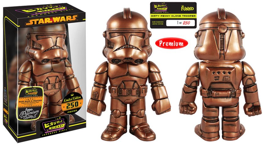 Dirty Penny Clone Trooper Premium Sofubi Figure
