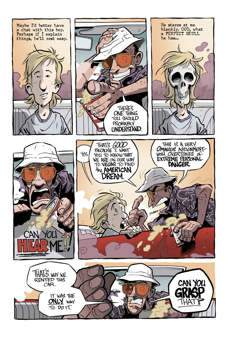 Hunter S Thompson S Fear And Loathing In Las Vegas