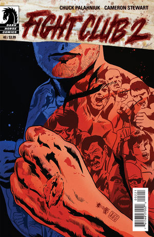 FIGHT CLUB 2 issue 2 Francesco cover