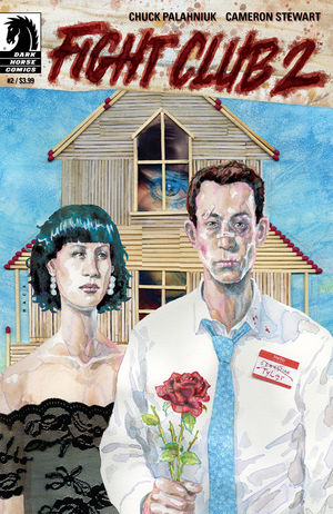 FIGHT CLUB 2 issue 2 main cover