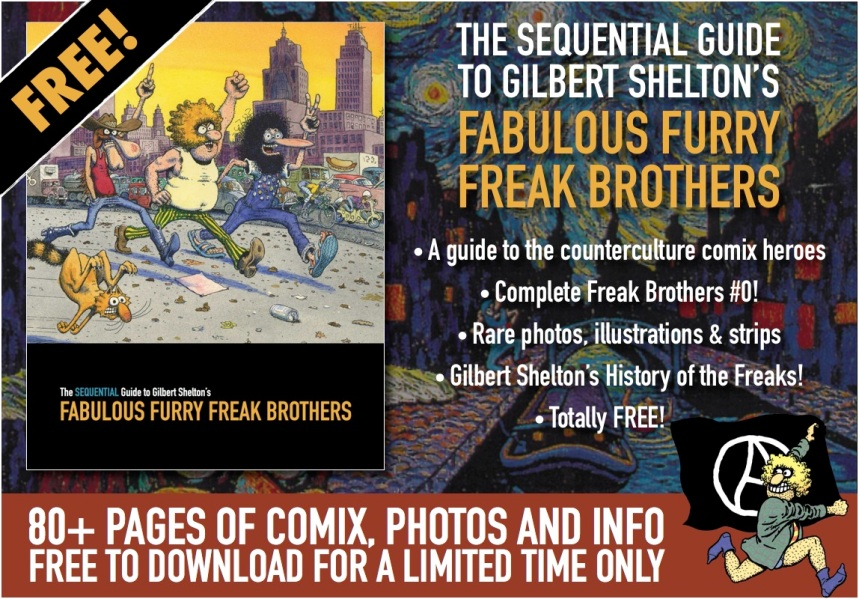 Freak Brothers Guide - plate