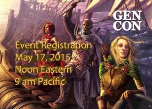 Gen Con Event Registration