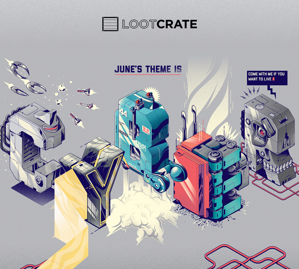 Loot Crate Cyber