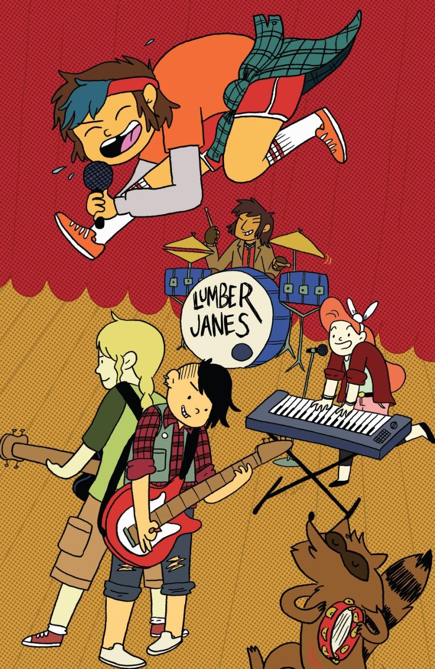 Lumberjanes #13 DCC Exclusive Variant by Liz Prince