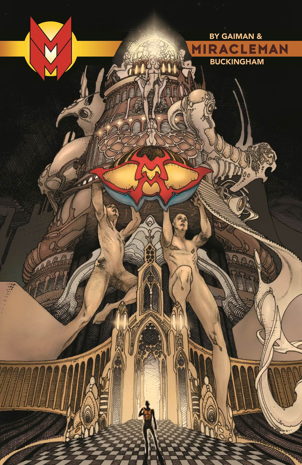 Neil Gaiman & Mark Buckingham Begin The Golden Age in Miracleman by Gaiman & Buckingham #1!