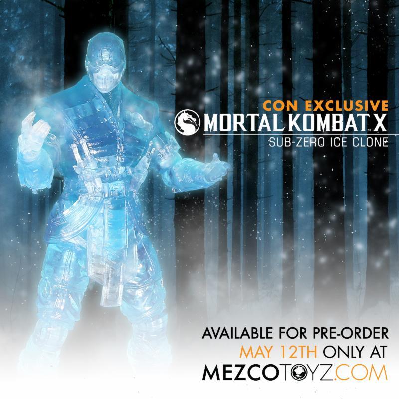 Mortal Kombat X Ice Clone
