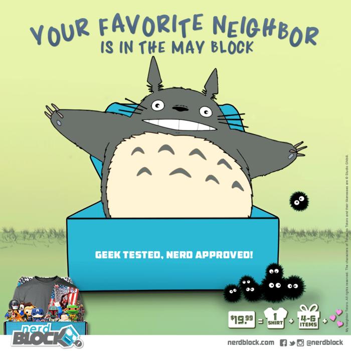 Nerd Block Your Favouite Neighbor
