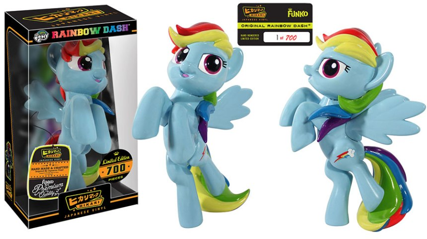 Original Rainbow Dash Hikari Sofubi Figure
