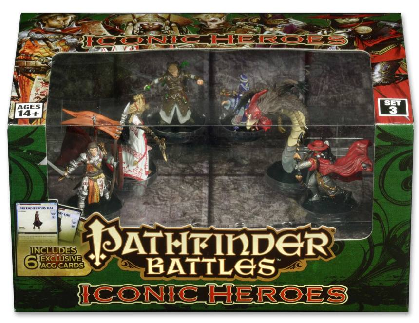 Pathfinder Battles Iconic Heroes Box Set III