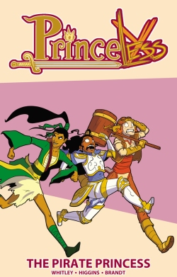 PRINCELESS THE PIRATE PRINCESS TPB