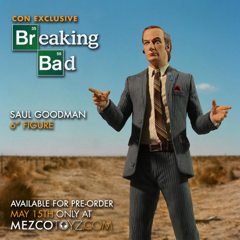 SDCC 2015 Mezco Saul Goodman Figure 1