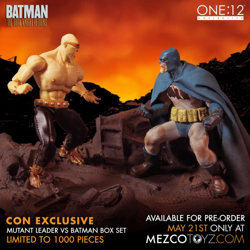 SDCC Exclusive The Dark Knight Returns Deluxe Boxed Set