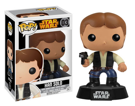 Star Wars Han Solo Pop!