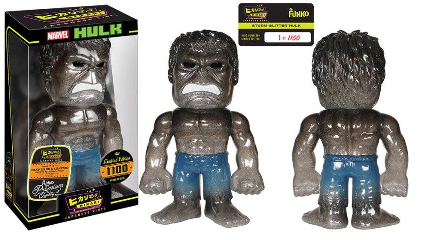Storm Glitter Hulk Premium Sofubi Figure