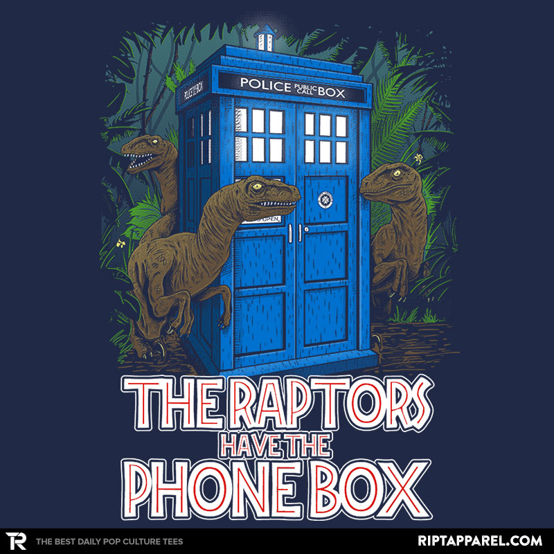 The Raptors Have the Phone Box