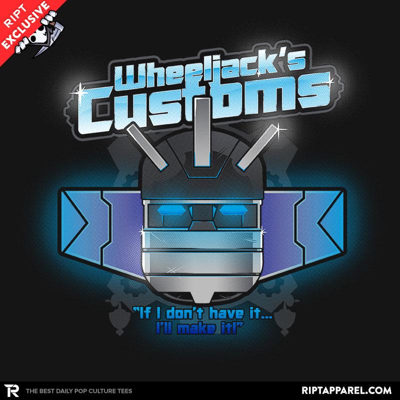 Wheeljack's Customs