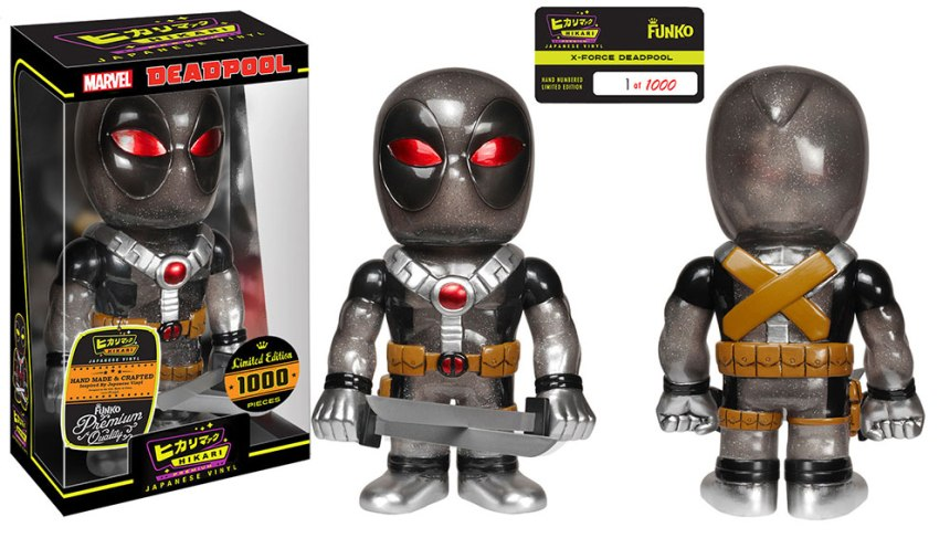 X-Force Deadpool Hikari Premium Sofubi Figure