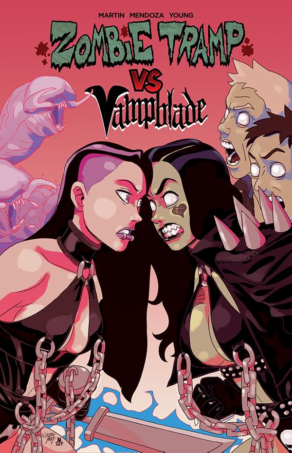 ZombieTrampVS_Vampblade_TPB_cover_solicit
