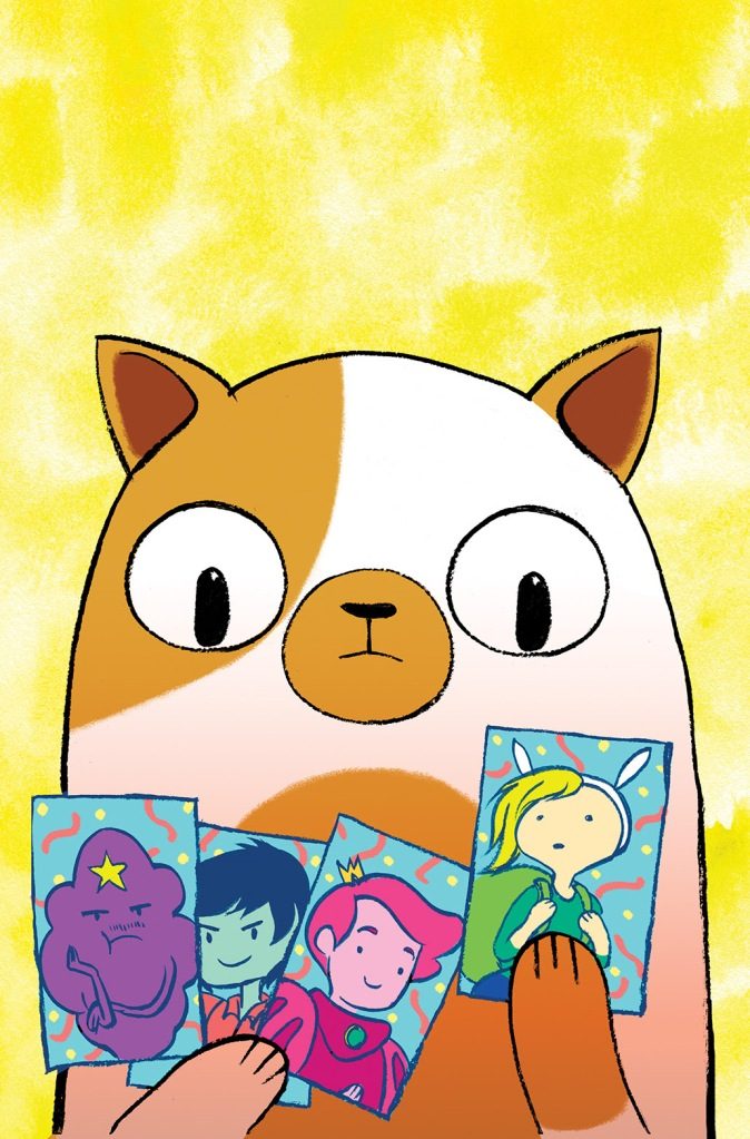 Adventure Time with Fionna & Cake Card Wars #1 Main Cover by Jen Wang