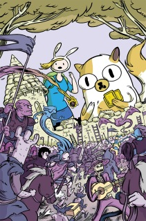 Adventure Time with Fionna & Cake Card Wars #1 Subscription Cover by Wyeth Yates
