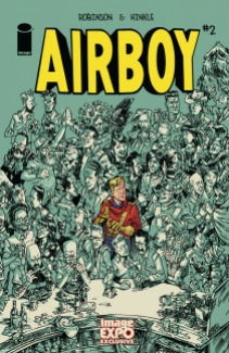 AIRBOY #2 by James Robinson & Greg Hinkle