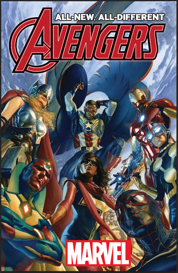 All-New All-Different Avengers #1 Jim Cheung Hip Hop Variant Marvel 2015