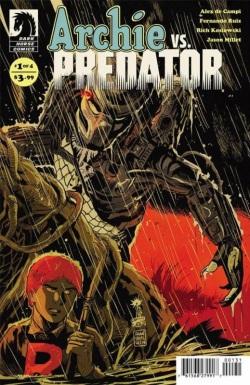 Archie vs Predator Francesco Francavilla