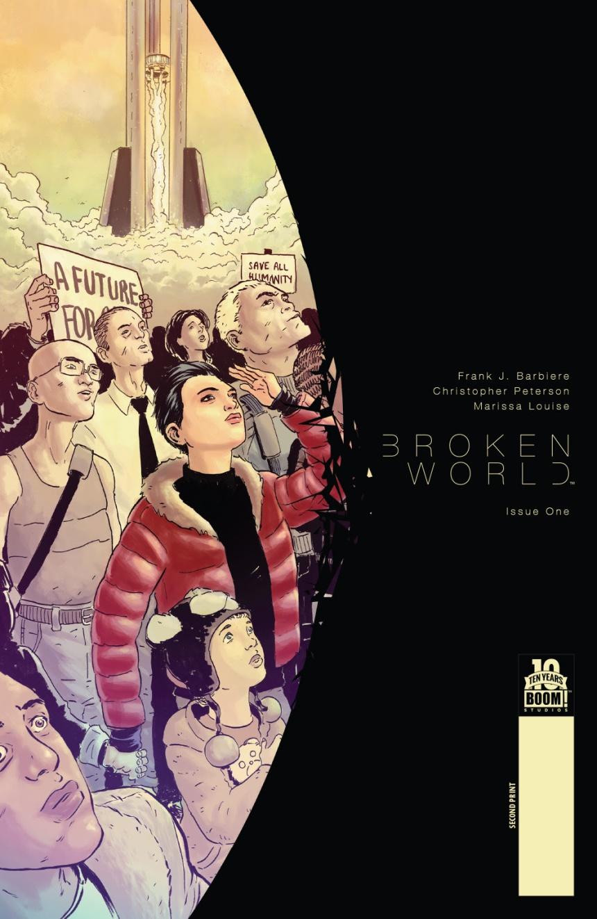 Broken World #1 Second Print Cover by Christopher Peterson