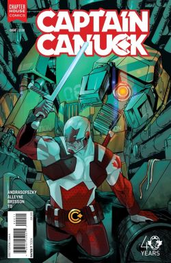 Captain Canuck #2 Cover