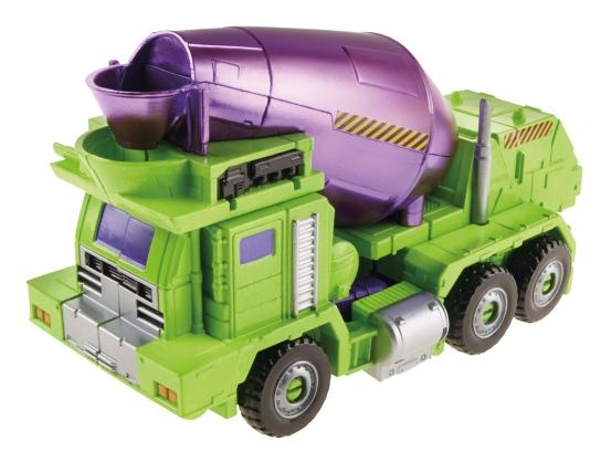 Constructicon Mixmaster Vehicle